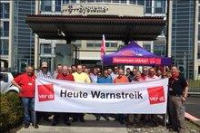 Warnstreik T-Systems Krefeld, 11.05.2016