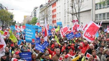 Streikkundgebung 24.04.2012 in Düsseldorf