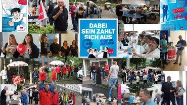 Bildcollage Aktionswoche Juni 2016 im LFB 9 NRW