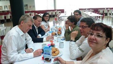 Frühstückstalk mit Lothar Schröder