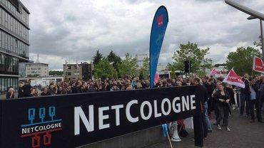 """Aktion """"Schwarzer Dienstag"""" NetCologne 14.06.2016"""
