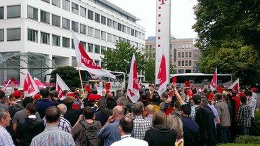 Aktion T-Systems Bonn, 14.06.2016