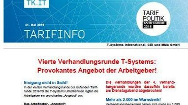 Tarifinfo 8 T-Systems 2016 - Teaser
