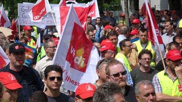 Streikkundgebung T-Systems Darmstadt, 31.05.2016