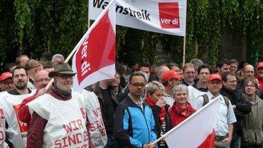 Warnstreik T-Systems Bielefeld, 24.05.2016