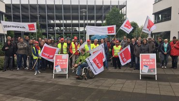 Warnstreik T-Systems Münster, 23.05.2016