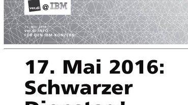 Sschwarzer Dienstag IBM - Teaser