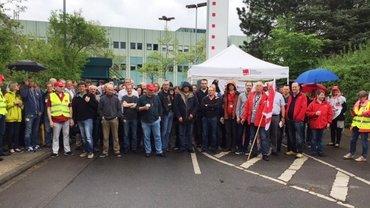 Warnstreik T-Systems Aachen, 10.05.2016