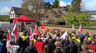 Streik STRABAG PFS 28.04.2016