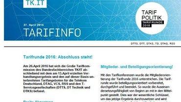 Tarifinfo 15 - Ergebnis steht! - Teaser