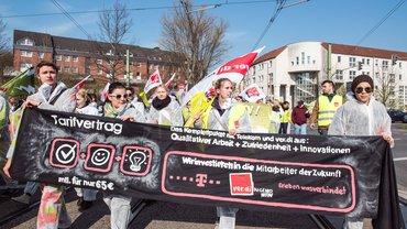 Azubis streiken, Dortmund 27.03.2014