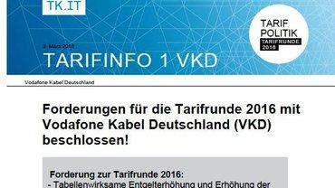 Tarifinfo 1 VKD - Teaser
