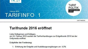 Tarifinfo 1 Unitymedia 2016 - Teaser