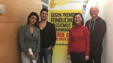 Spende der Telekom-Jugend Köln an den Kumpelverein übergeben