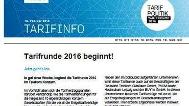 Tarifinfo 3 - Teaser