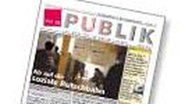 Titelzeile der ver.di PUBLIK