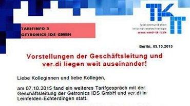 Tarifinfo 3 Getronics IDS - Teaser