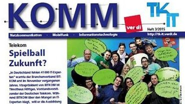 komm Ausgabe 3/2015 - Titelblatt - Teaser
