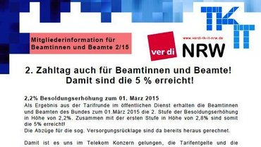 BeamtInneninfo FB 9 NRW 02/2015
