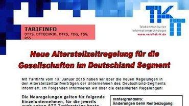 Tarifinfo ATZ Rentenzugang - Teaser