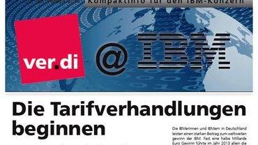 ver.di@IBM 29.09.2014 Tarifverhandlungen beginnen - Kopf