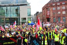 Kundgebung Telekom am 12.04.2016 in Dortmund