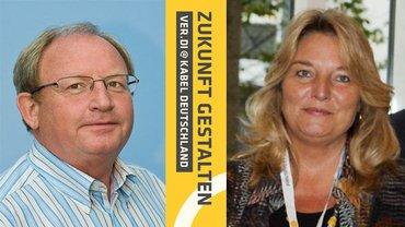 Joachim Pütz und Susanne Aichinger erfolgreich in der AR-Wahl Vodafone
