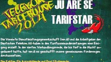 Flyer Jugend Ergebnis Tarifrunde Telekom 2014 - Kopf