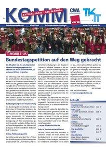 komm - Sonderausgabe T-Mobil US - Titelblatt