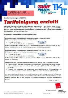 Tarifinfo 14 - Seite 1 von 4