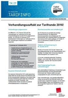 Tarifinfo 4 - Seite 1