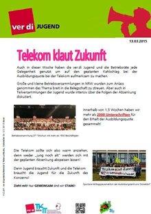 Flyer Telekom klaut Zukunft 2