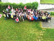 Warnstreik T-Systems Bonn, 23.05.2016