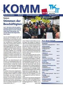 komm Ausgabe 4/2015 - Titelblatt