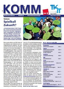 komm Ausgabe 3/2015 - Titelblatt