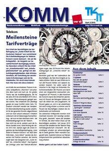 KOMM Ausgabe 02/2015 Titelseite