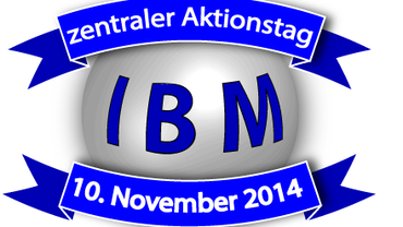 IBM: zentraler Aktionstag am 10. November