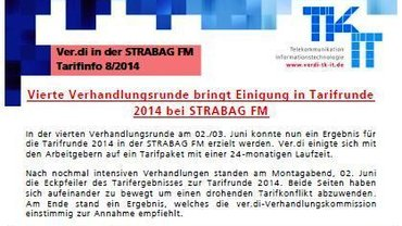 Tarifinfo STRABAG FM 8 - Kopf