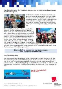 Tarifinfo 16 - 2014 - Seite 2 von 2
