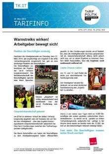 Tarifinfo 10 Tarifrunde Telekom 2016