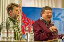 Detlev Rockenberg und Jürgen Andziewicz