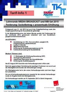 Tarifinfo Media Broadcast 1