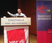 Thorsten Reimann (GBR TSI) in der Regionalkonferenz am 13.05.2014
