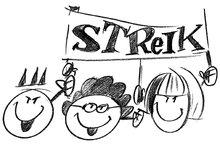 Streik Gruppe