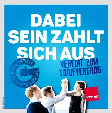 Titelseite Booklet Aktionswoche Gute Arbeit - Guter Lohn - Dabei sein zahlt sich aus