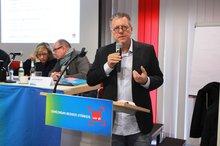 Michael Halberstadt, Verhandlungsführer, in der Regionalkonferenz NRW - 15.04.2016