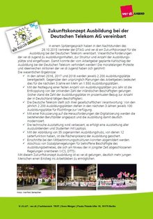 Jugendflyer Ergebnis Zukunft Ausbildung Telekom