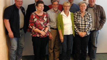 Der Vorstand des Bezirksfachbereichs Wuppertal / Rhein-Wupper