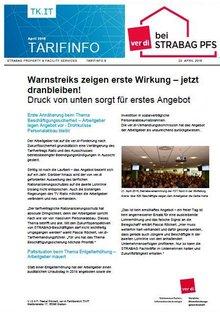 Tarifinfo 9 STRABAG PFS - Seite 1