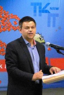 Klaus Weber in der Beamtenpolitischen Konferenz 2015